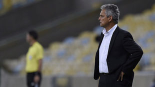 Reinaldo Rueda, entrenador del Flamengo.