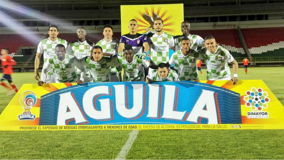 Once del Boyacá Chicó de esta temporada.