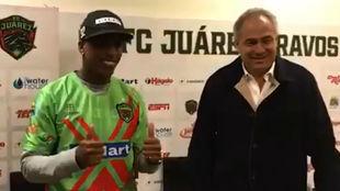 Con la posibilidad de jugar en varios equipos de Colombia, escogió ir...