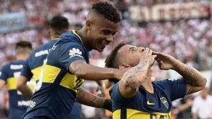 Ambos jugadores serán titulares ante River Plate el próximo fin de...