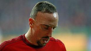 Ribéry relató su drama en Canal+ Francia