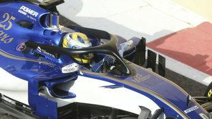 Marcus Ericsson en su monoplaza