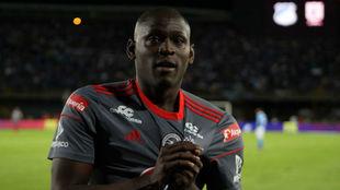 Martínez Borja anotó el único tanto del partido entre Millonarios y...