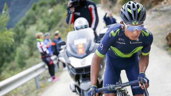 Quintana en una carrera de la temporada pasada