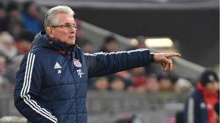 Heynckes, durante un partido con el Bayern de esta temporada
