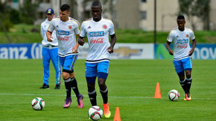 Segura en su época de Selección Colombia Sub-20. Foto: FCF