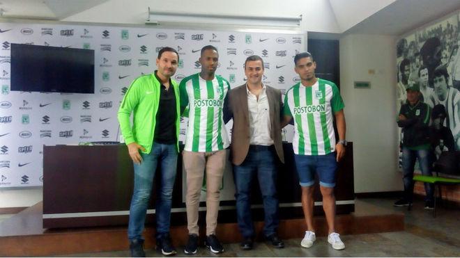 Atlético Nacional confirmó la llegada de dos nuevos jugadores