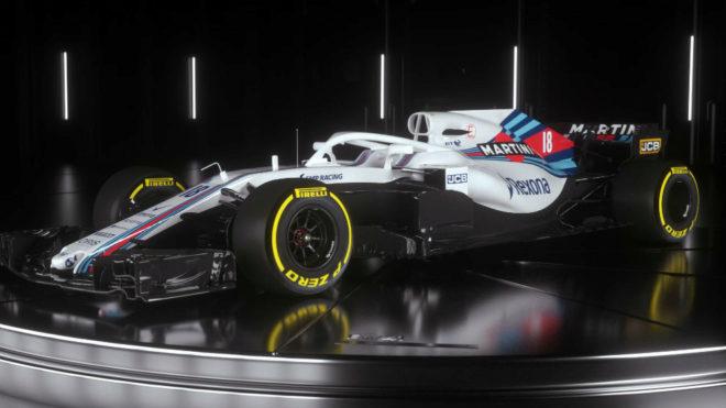 Williams presentó su coche para la nueva temporada