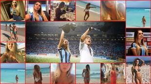Carolina Portaluppi es la hija de Renato Gaucho, entrenador del...
