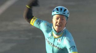 El danés Valgren ejecuta a la perfección el plan del Astana