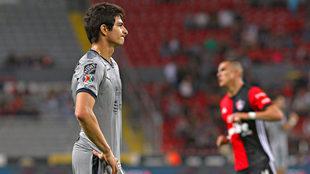 Stefan Medina se lamenta tras fallar el penalti