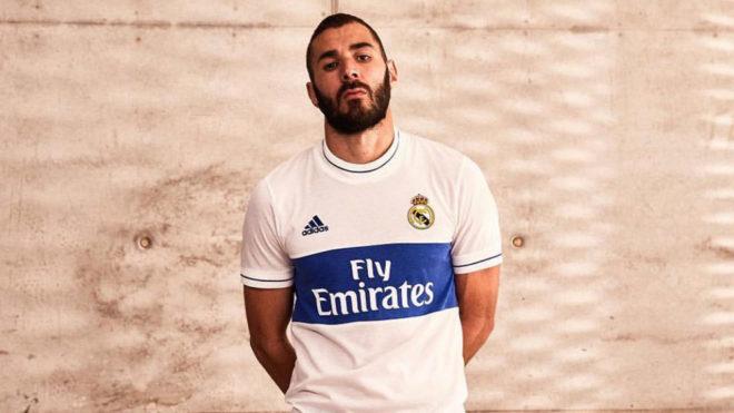 El Real Madrid lanza una camiseta estilo retro para coleccionistas (+Fotos)