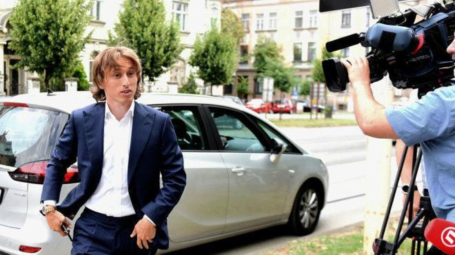 Luka Modric, acusado de falso testimonio en un caso de corrupción