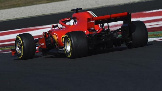 Sebastian Vettel, el más rápido en pruebas de F1