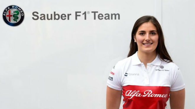 Tatiana Calderón se convirtió en la primera mujer sudamericana en llegar a la Fórmula 1