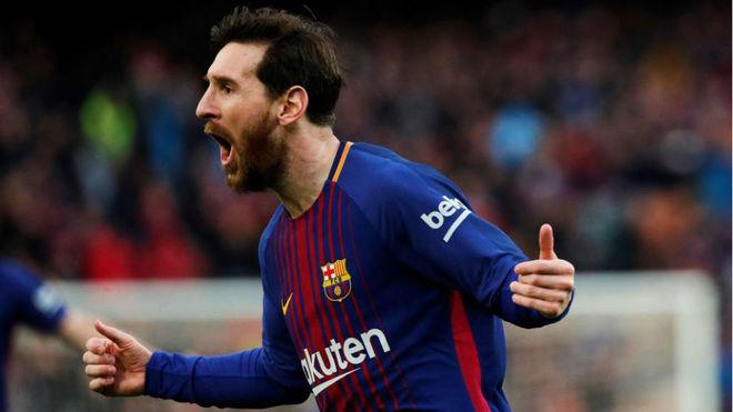 Inéditas imágenes de Messi en el Barcelona