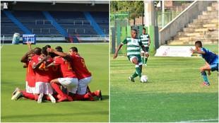 Barranquilla celebra la goleada y Valledupar derrota a Real Santander
