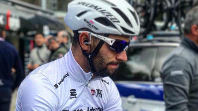 Gaviria en la pasada Tirreno - Adriático / @FndoGaviria
