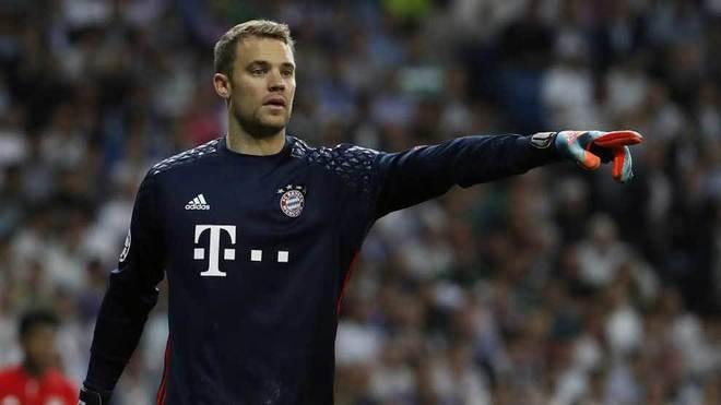 Manuel Neuer volvió a las canchas luego de la lesión