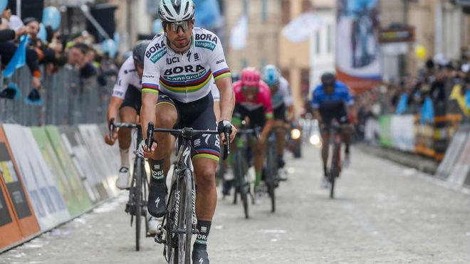 Peter Sagan durante la reciente Tirreno Adriático / EFE
