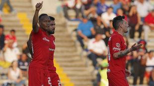 Quiñones celebró por partida doble ante sus excompañeros