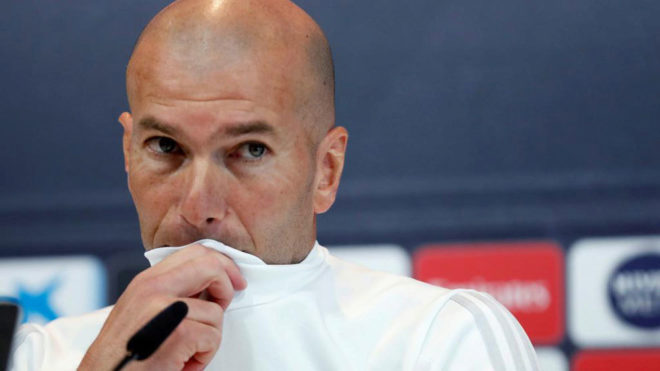 Zinedine Zidane decide no hacer el pasillo de honor a Barcelona