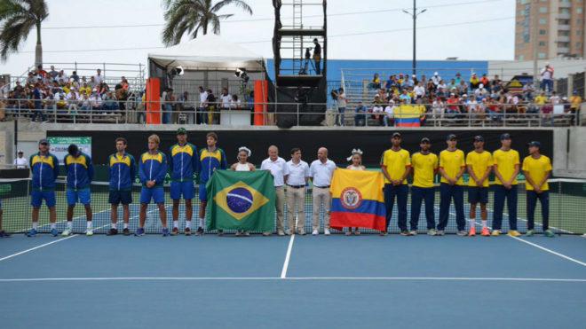 Colombia y Brasil, a cerrar su clasificación al repechaje del Grupo...