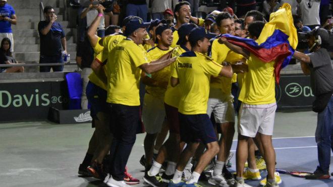 Colombia ahora piensa en el repechaje del Grupo Mundial /...