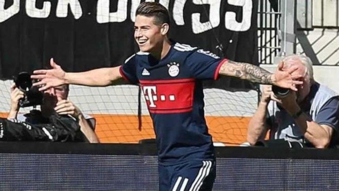 James Rodríguez: ¿Podrá jugar ante el Real Madrid?
