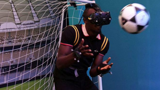 El futbol, la meta de Usain Bolt