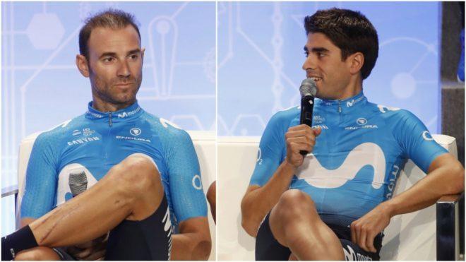 Valverde y Landa, dos grandes favoritos para el título