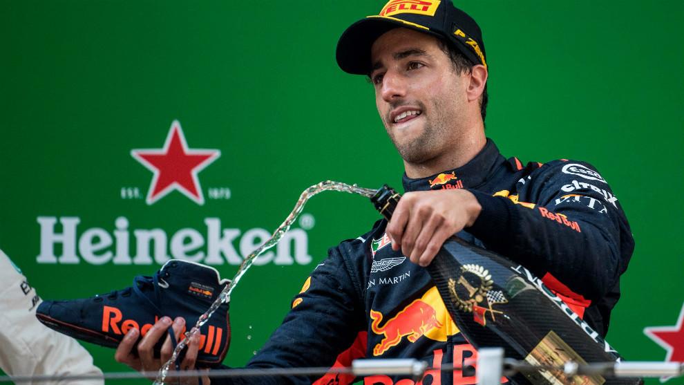 Ricciardo gana el Gran Premio de China de F1