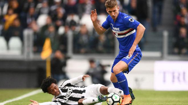 Juventus goleó a Sampdoria y estiró su ventaja
