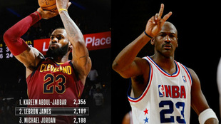 Lebron y Jordan, dos auténticos ídolos de la NBA