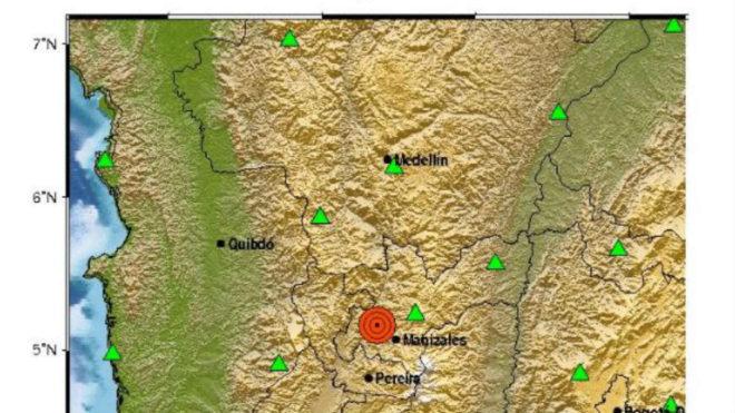 Temblor de 5.4 de magnitud se sintió en Medellín