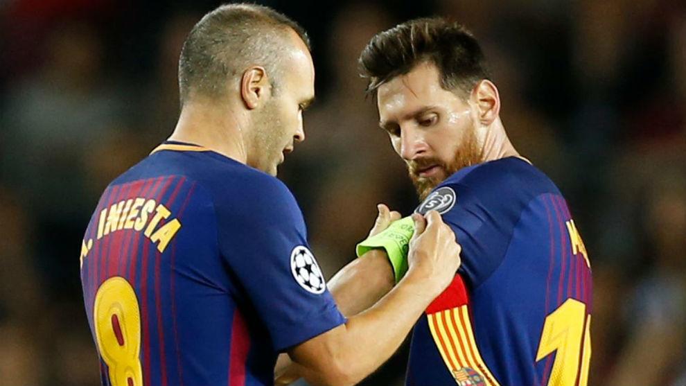Iniesta confirma su salida del Barcelona