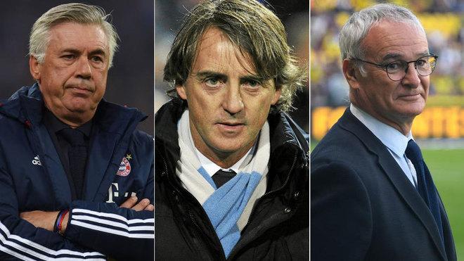 Mancini, el elegido para resurgir a Italia