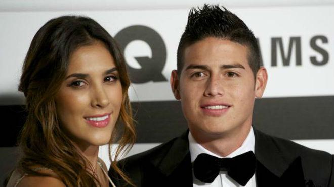 El mensaje de Daniela Ospina luego del partido de James en Madrid
