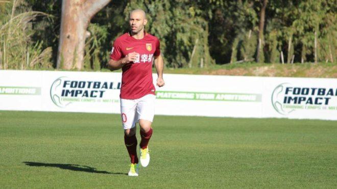 El debut goleador de Mascherano no pudo salvar al Hebei de Pellegrini