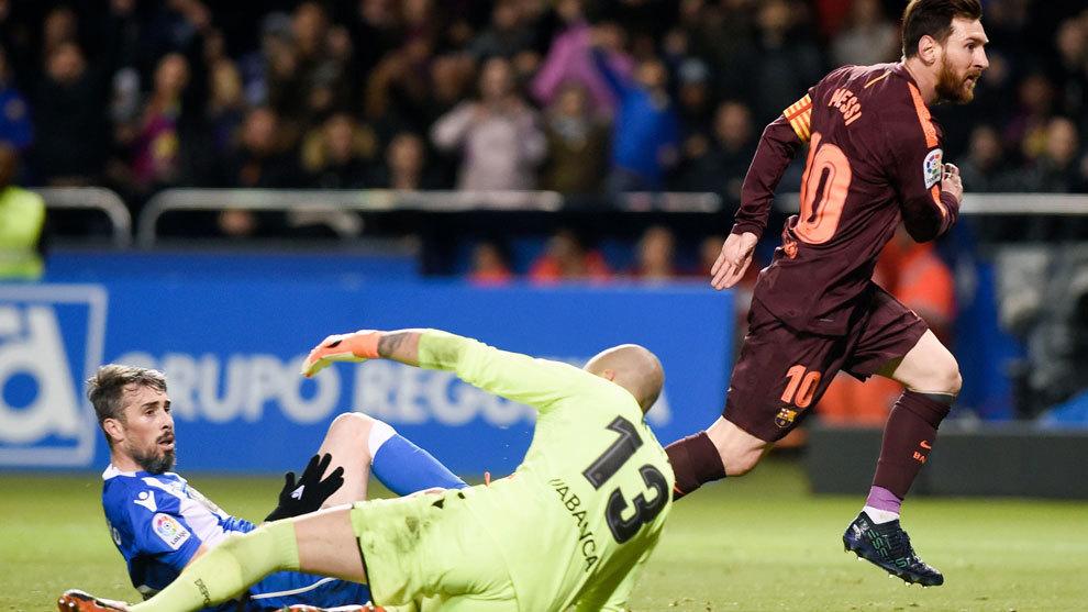 Sin jugar, Messi ganó su quinta