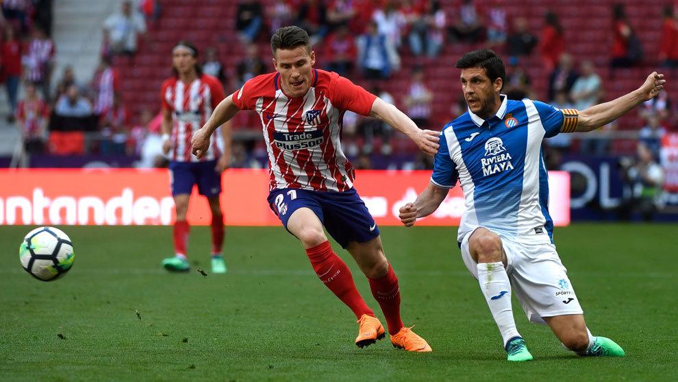 Atlético de Madrid sufrió duro revés ante Espanyol en la liga española
