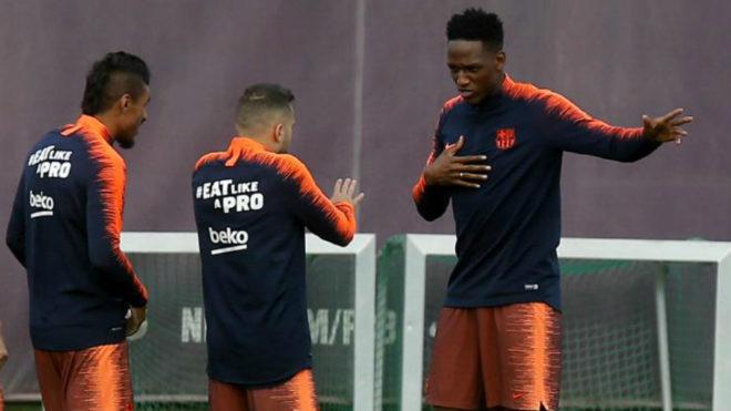 Yerry Mina, convocado por el Barcelona para este miércoles