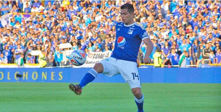 Millonarios no tendrá a David Silva para enfrentar a Independiente