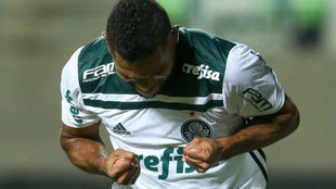 Miguel Ángel sigue en racha goleadora en Brasil / @Palmeiras