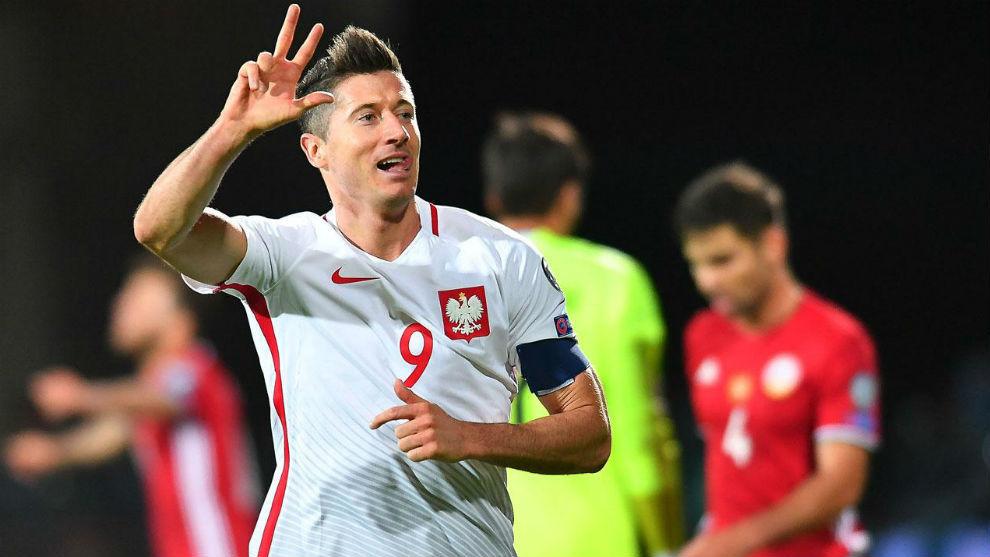 Polonia, rival de Colombia, da la prelista para el Mundial de Rusia