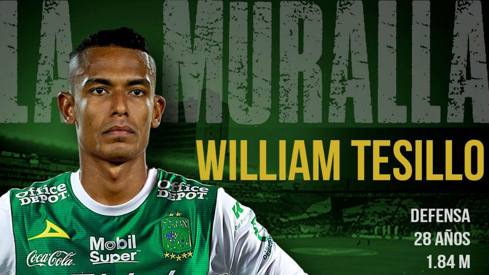 Rumbo a México: William Tesillo fue confirmado como nuevo jugador de León