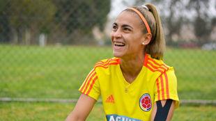 Jessica Caro, volante de la Selección Colombia Femenina