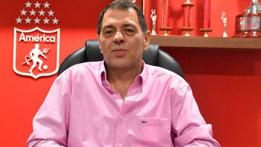 Tulio Gómez renuncia a la presidencia del América de Cali