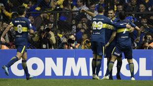 Boca goleó esta noche a Alianza Lima en La Bombonera / @CONMEBOL