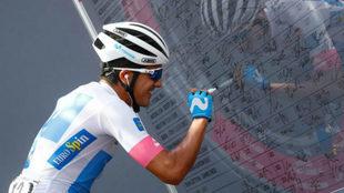 El ecuatoriano es una de las sensaciones del Giro 101 / Luk Benies